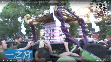リニューアル記念!三社祭2014        (宮出し・宮入り)